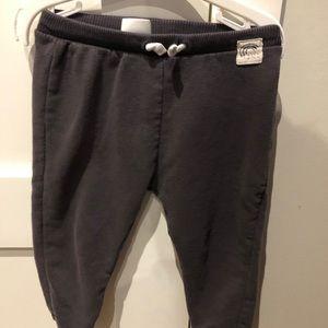 Zara toddler boy sweatpants 18/24 months